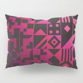 Digital Inkblot Pillow Sham