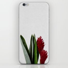 Red Flower iPhone Skin