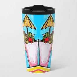 Miami Vice - Tropical Drink - Beach Cocktail - daiquiri Travel Mug
