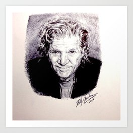 Jeff Bridges Art Print