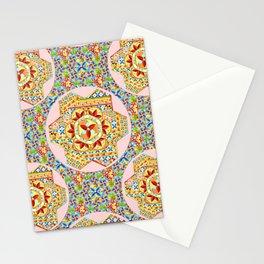 Gypsy Boho Chic Hexagons Stationery Cards