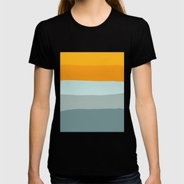 Zen Ocean Stripes T-shirt