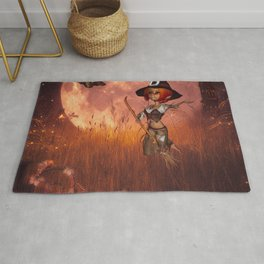 Cute little witch Rug