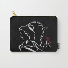 Beauty And Beast BW Carry-All Pouch