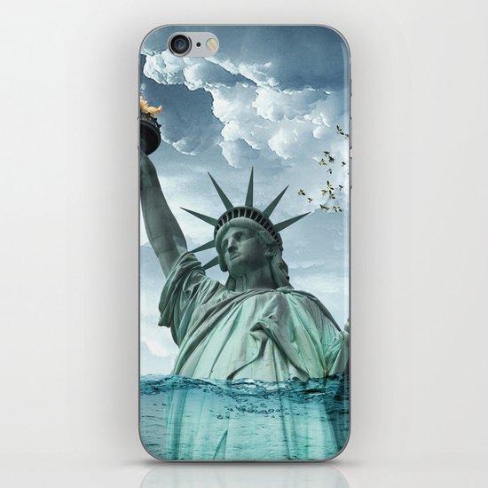the water line iPhone & iPod Skin