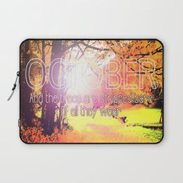October Laptop Sleeve