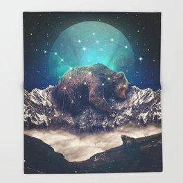 Under the Stars | Ursa Major Throw Blanket