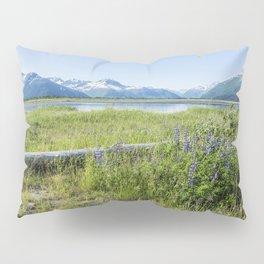 Along the Seward Highway, No. 2 Pillow Sham