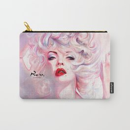 SUPERNOVA. Marilyn. A smart girl leaves before is left. Carry-All Pouch