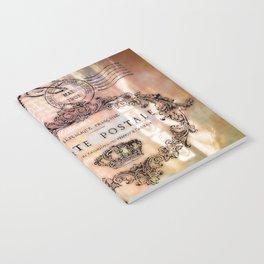 Eiffel tower collage Notebook