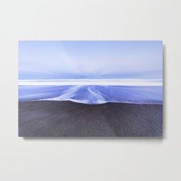 Coastal Sweep Metal Print
