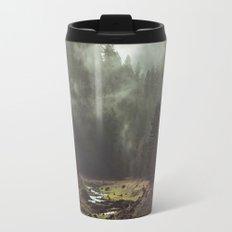 Foggy Forest Creek Travel Mug