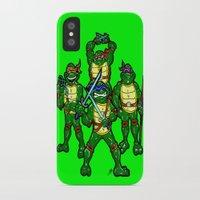 teenage mutant ninja turtles iPhone & iPod Cases featuring Teenage Mutant Ninja Turtles by beetoons