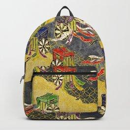Oriental wagon pattern vintage Backpack