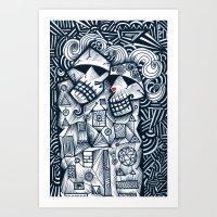 Love Survive Art Print