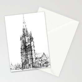Collegiate Church of St Gertrude, Nivelles Stationery Cards