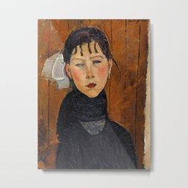 Amedeo Modigliani - Marie (Marie, fille du peuple) Metal Print