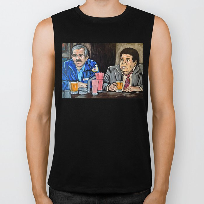 Cheers to Cliff and Norm Biker Tank