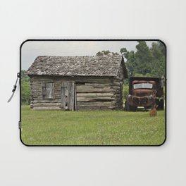 Old truck and cabin Laptop Sleeve