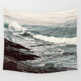 Cyan Sea #2 Wall Tapestry