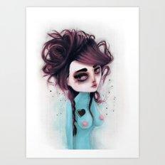 hole on my own heart Art Print