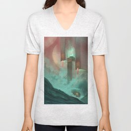 Temple of Earth Unisex V-Neck