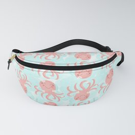 Cheerful Cute Octopus Fanny Pack