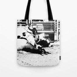 Bull Riding Champ Tote Bag