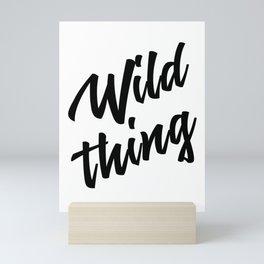WILD THING Mini Art Print