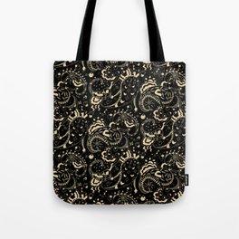 emotional paisley pattern Tote Bag