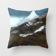 Crucible Crossing Throw Pillow