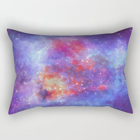 Heart on Universe Rectangular Pillow