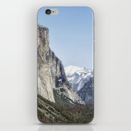 El Capitan, Half Dome and Sentinel Rock from Tunnel View iPhone Skin