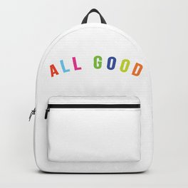 All good Backpack