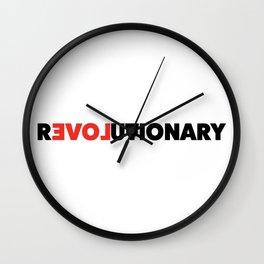 Revolutionary Wall Clock
