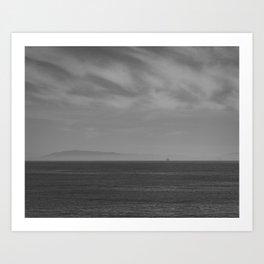 San Buenaventura State Beach I Art Print