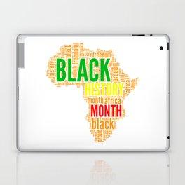 Black History Month Typography Laptop & iPad Skin
