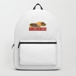 Funny Chonk Guinea Pig Meme Backpack