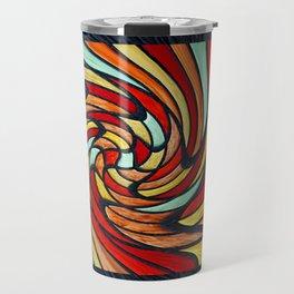 chromatic swirl Travel Mug