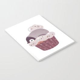 Cookie & cream & penguin Notebook