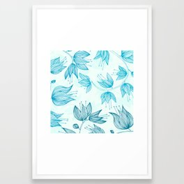Biru Dream Framed Art Print
