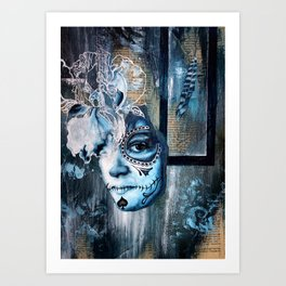 Story of a Girl Art Print