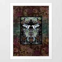 Winged Infinence Art Print