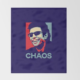 'Chaos' Ian Malcolm (Jurassic Park) Throw Blanket