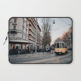 Tram in Milan Laptop Sleeve