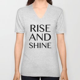 Rise and Shine Unisex V-Neck