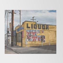 Liquor Store Culver City Throw Blanket