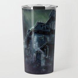 The Haunted House Travel Mug