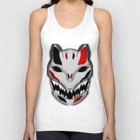 werewolf Tank Tops featuring WereWolf by FWAETI