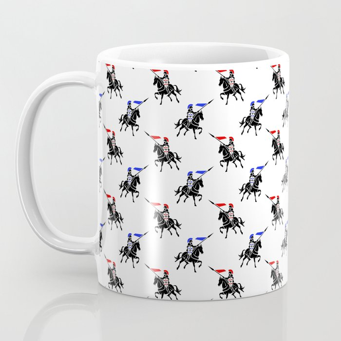 Jousting Knights Coffee Mug